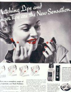 Ten samý trend – Cutex, 30. léta