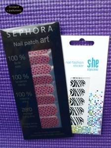 Sephora Nail patch art a s.he stylezone nail fashion sticker