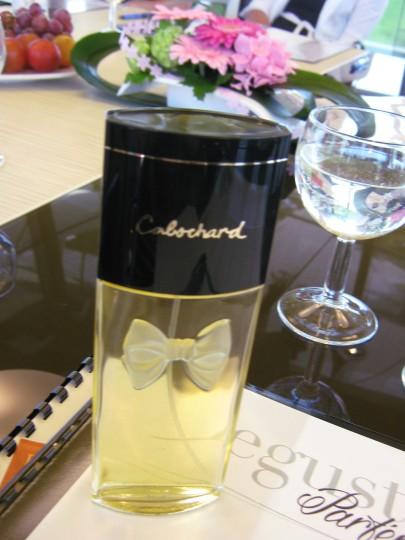 8 degustace parfémů