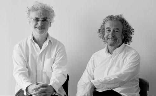 Francis Miller (vlevo) a Patrick Bertaux (vpravo), foto z webu značky
