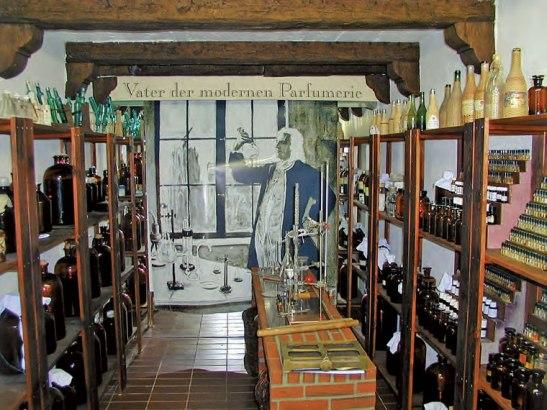 V domě Farina vKolíně nad Rýnem je muzeum vůně Foto: Farina