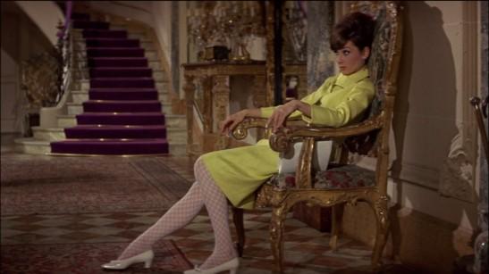 Audrey Hepburn ve filmu Jak ukrást Venuši. Parfém Le Galion Tubereuse jako by byl stvořen pro ni: ne kvůli banánovému kostýmku, ale protože by ladil s její noblesou a roztomilou hravostí. Foto: Flickr, Classic Film